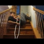 Crutches on Stairs