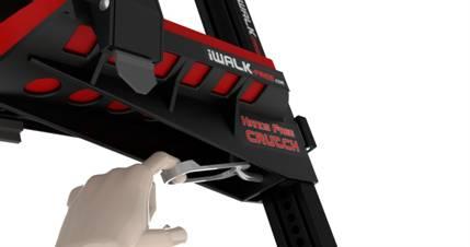 iWALK crutch assembly