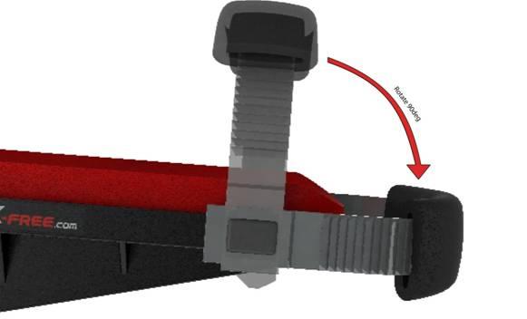 iWALKFree crutch configuration