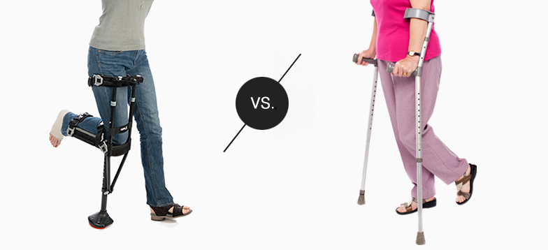 iWALK vs forearm crutches