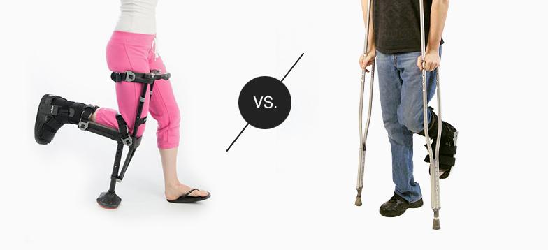 iWALK vs Crutches