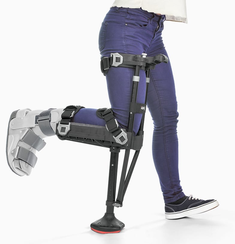 Iwalkfree Hands Free Crutch For Walking Better Than Crutches Or