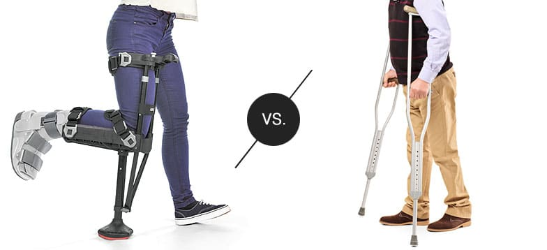 iWALK vs Crutches