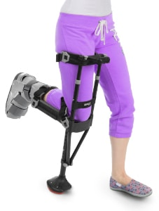 iWALK2.0 Crutch for Broken Ankle Recovery