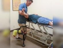Jeffrey-working-therapist-aircast-crutches-220x167-220x167