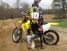Joey-dirtbike-crutches-broken-ankle-220x167