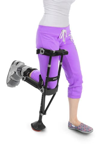 iWALK2.0 Crutch And Knee Scooter Alternative