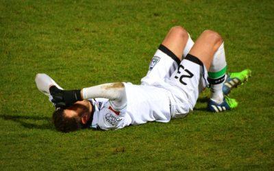 Soccer player injured