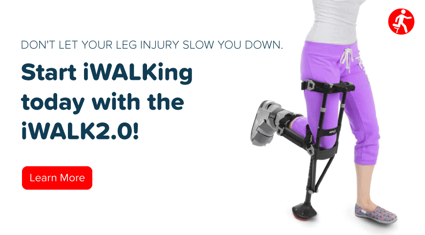 CTA - iWALK (Start iWalking today with the iWalk2.0!)
