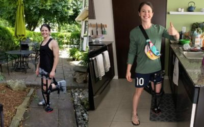Diana Matheson - iWALK hands free crutch